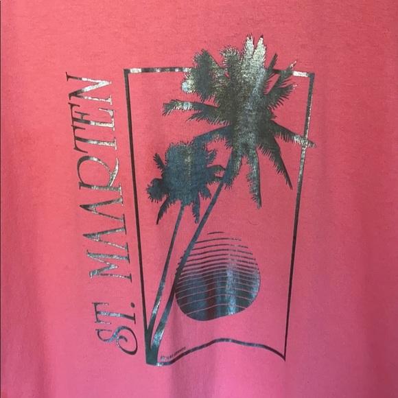 Vintage Other - VTG 1987 St. Maarten destination T-shirt. Size M